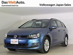 VW ゴルフヴァリアントコンフォートライン 元当社社用車 禁煙デモカー純正ナビTV
