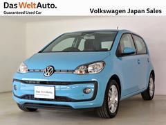 VW アップ!ハイアップ シートヒーター スマホ連携インフォPKG元試乗車