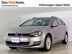 VW ゴルフヴァリアントコンフォートラインセーフティPKG当社元社用車 純正ナビTV