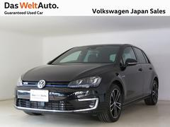 VW ゴルフGTEPHV 禁煙デモカー 純正ナビ TV バックカメラ