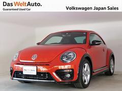 VW ザ・ビートルRライン 禁煙デモカー純正ナビTV 特別色ハバネロオレンジ