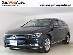 VW パサートヴァリアントハイライン レザーシート  ワンオーナー 純正ナビTV