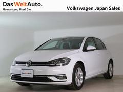 VW ゴルフ7.5型 コンフォート 禁煙デモカー純正ナビTVバックカメラ