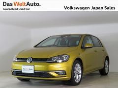 VW ゴルフ7.5型コンフォートテックエディション禁煙デモカー純正ナビ