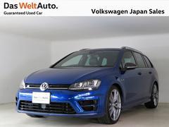 VW ゴルフRヴァリアント【限定車】カーボンスタイル 19インチアルミ 純正ナビ