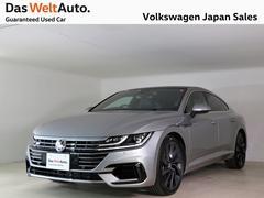 VW アルテオン1オナ 黒革 4WD SR 20AW 純正ナビ ETC