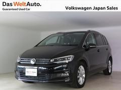 VW ゴルフトゥーラン元社有車 インテグレーテッドチャイルドシート サンルーフ付