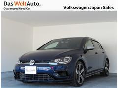 VW ゴルフR禁煙ワンオーナー純正ナビTVレザーシート