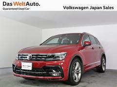 VW ティグアンTSI Rライン 禁煙デモカー純正ナビETCバックカメラ