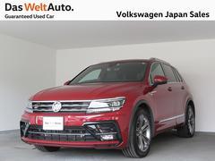 VW ティグアンTSI Rライン 禁煙デモカー 純正ナビTVバックカメラ