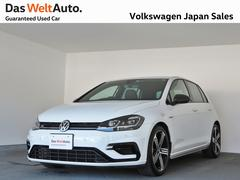 VW ゴルフR7.5型 禁煙ワンオーナーレザーシート純正ナビ4MOTION