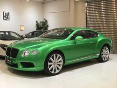 ベントレー コンチネンタルGT V8 正規ディーラー車 アップルグリーン