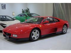 フェラーリ 348tb 正規ディーラー車 記録簿11枚有