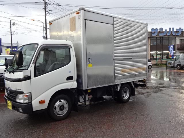 トヨタ 2t10尺アルミバン 4.0Dターボ バックモニタ ナビ