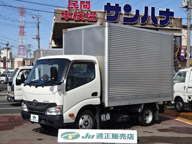 トヨタ 2t積載10尺アルミバン 4.0Dターボ 5F