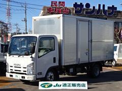 エルフトラック2t積標準ロングアルミバン 3.0Dターボ 6F