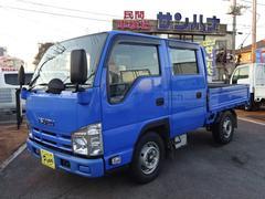 エルフトラックWキャブ 1.25t積載 3.0Dターボ 5F