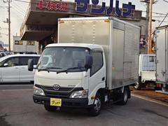 ダイナトラック2t積載10尺アルミバン 4.0Dターボ AT バックモニタ