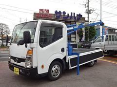 アトラストラッククレーン付き ロングフルスーパーロー 2.0ガソリン AT