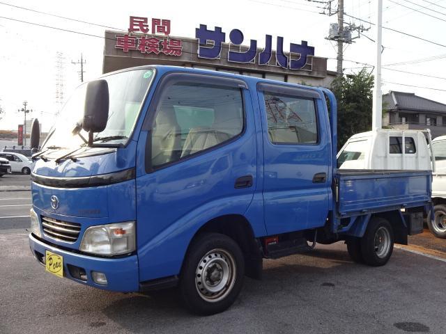 トヨタ Wキャブロングジャストロー 1.25t積 2.0G 5F