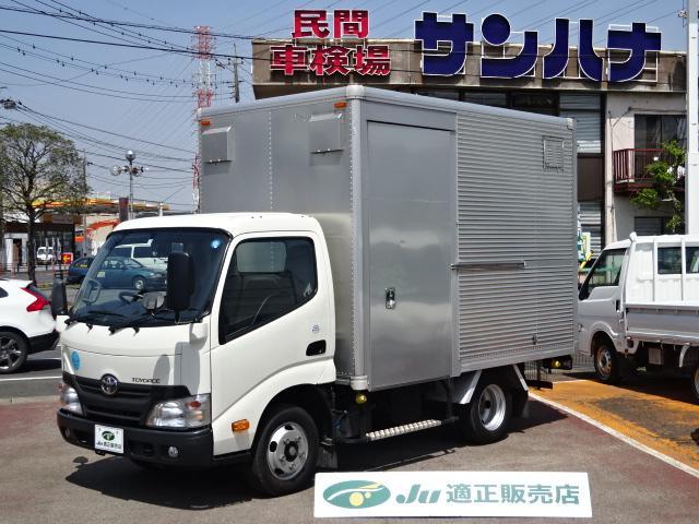 トヨタ 2t積載 10尺 アルミバン サイドドア 4.0DT AT