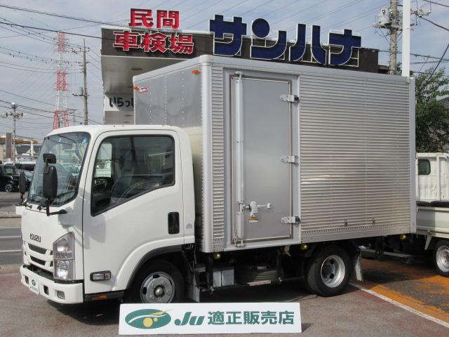 いすゞ 2t積載11尺アルミバン 3.0Dターボ スムーサーEx