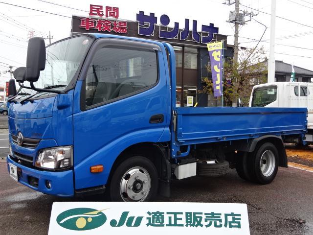 トヨタ ダイナトラック フルジャストロー 2t10尺 4.0DターボAT 新品鉄板床