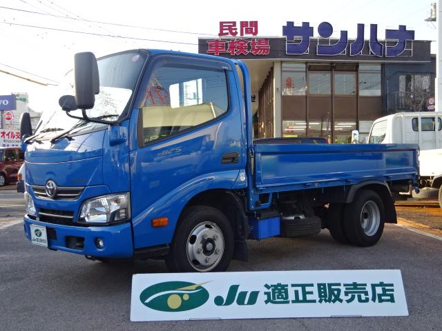 トヨタ ダイナトラック フルジャストロー 2t10尺 4.0DターボAT 木製新品床