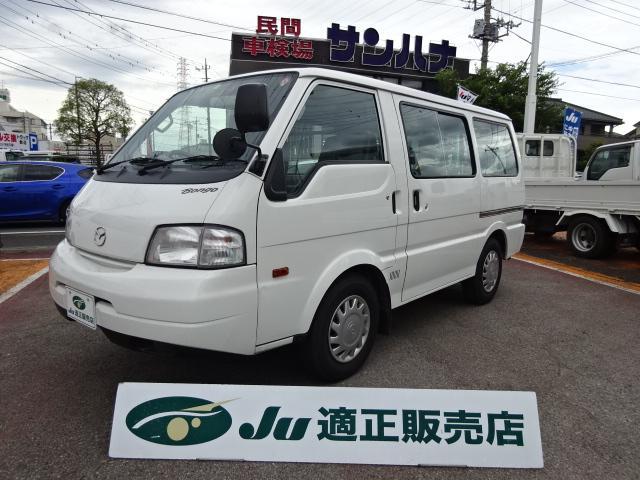 マツダ ボンゴバン  DX メモリーナビ TV バックモニター付 5ドア 5速オートマ 1.8ガソリン 1.15t積載
