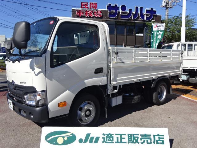 トヨタ ダイナトラック フルジャストロー 2t積載10尺平ボディ 4.0Dターボ オートマ TPG-XZU605