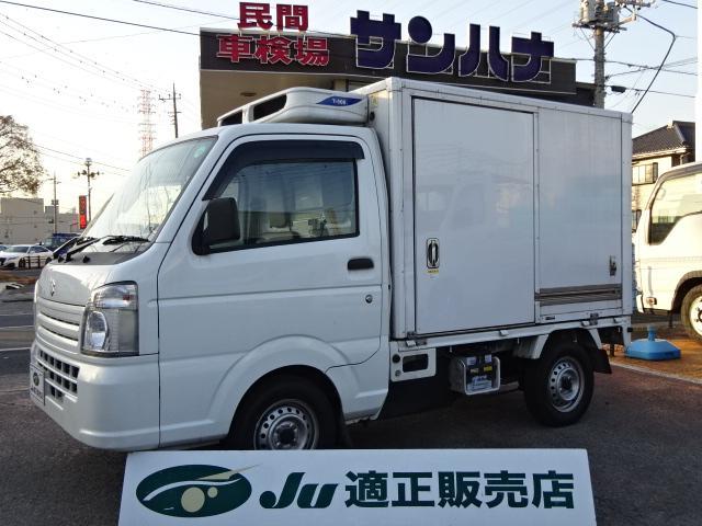 スズキ  冷蔵冷凍車 -25℃設定サーマルマスター製冷凍機 オートマ 2コンプレッサー サイドドア バックモニター サーモレコーダー ETC付き