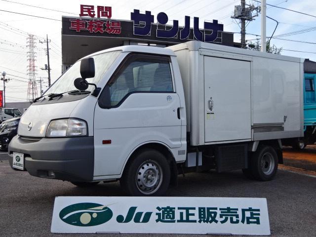 日産  冷蔵冷凍車 -7℃設定デンソー製冷凍機 1.8ガソリン オートマ ジャストロー リヤWタイヤ フル装備 サイドドア ナビ ワンセグ