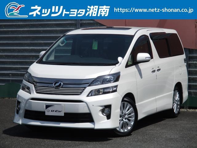 トヨタ 2.4Z ゴールデンアイズ ツインムーンルーフ HDDナビ