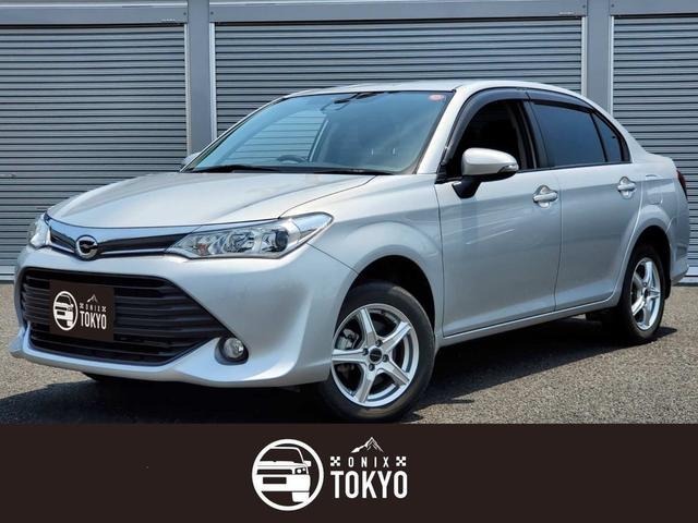 トヨタ カローラアクシオ 1.5X 4WD/ワンオーナー/アルパインナビ/バックカメラ/TV/ETC