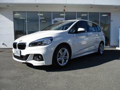 BMW218dグランツアラー Mスポーツ 4年保証 ETC ナビ