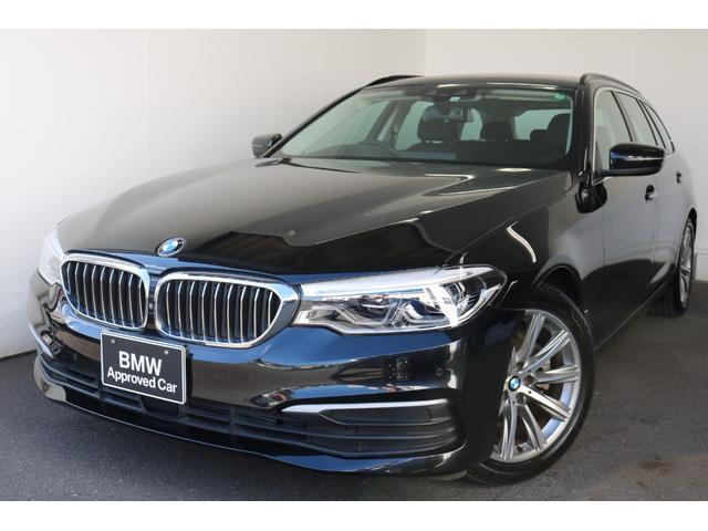 BMW 5シリーズ 523dツーリング スタンダード 18インチアルミ LEDヘッドライト ACC クロスシート ETC ヘッドアップディスプレイ