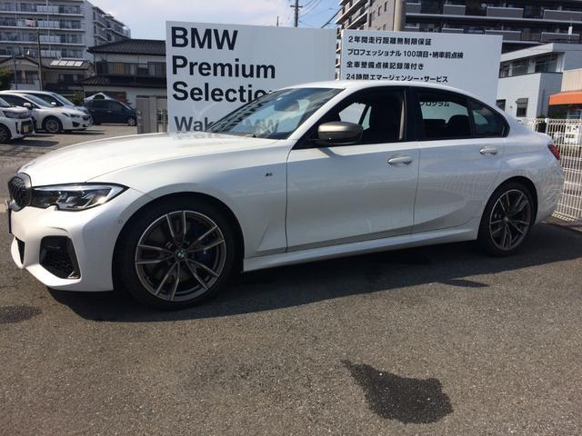BMW M340i xDrive 後退アシスト サイドカメラ HUD