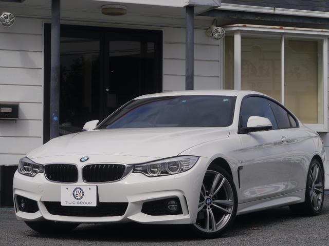 BMW 420iクーペ Mスポーツ 1オナLEDヘッドDアシ2年保証
