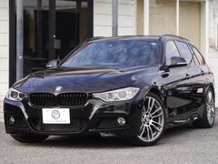 BMW335iツーリング Mスポーツ 1オーナ黒革19AW2年保証