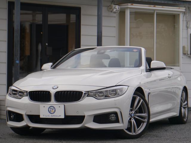 BMW 435iカブリオレ Mスポーツ ACC黒革LED 2年保証