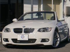 BMW335iカブリオレ Mスポーツ 1オ−ナ 黒革 2年保証
