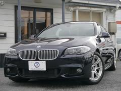 BMWアクティブハイブリッド5 Mスポーツ 1オナSR黒革2年保証