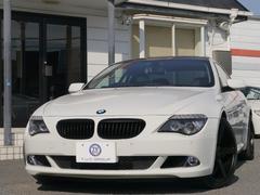 BMW630i 後期 サンR VOSSEN20AW 黒革 2年保証