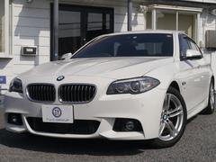 BMW523i Mスポーツ 1オナ 後期 ACC 黒革 2年保証