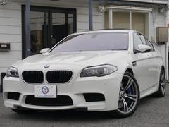 BMWM5 1オナ SR ヒータベンチM黒革 iストップ 2年保証