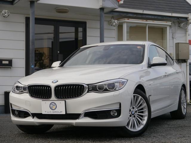 BMW 320iグランツーリスモ ラグジュアリー1オナ黒革 2年保証