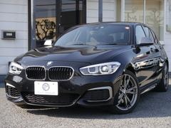 BMWM140i 1オーナ 黒革 Dアシスト Pアシスト 新車保証