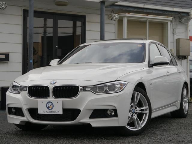 BMW 320d Mスポーツ サンルーフ 黒革 iストップ 2年保証