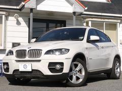 BMW X6xDrive 35i サンR 黒革 Dリアゲート 2年保証