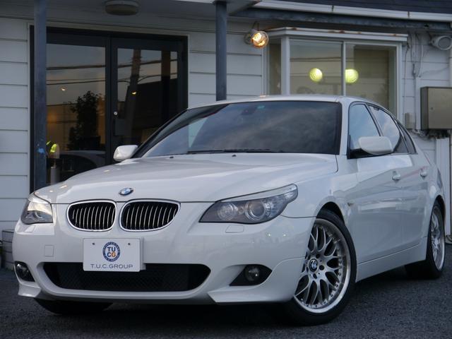 BMW 525iMスポーツ後期 ヒーター黒革 スマートキー 2年保証